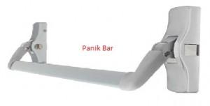 Panik bar kilit sistemleri