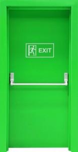 Acil çıkış kapısı boyutları