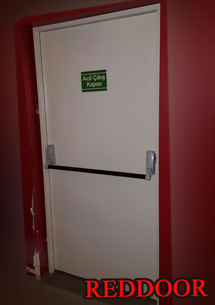 Ucuz Yangın Kapısı Firması Reddoor, Yangın Çıkış Kapısı, Yangın Merdiveni Kapısı